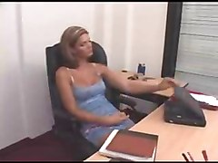 Blonde, Office, Shemale, Xhamster.com
