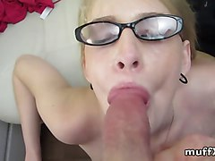 Blonde, Glasses, Ass, Xhamster.com