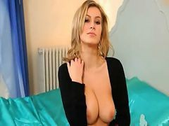 Blonde, Whore, Lingerie, Drtuber.com