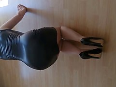 Leather, Heels, Dress, Xhamster.com