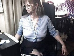 Granny, Glasses, Ass, Xhamster.com