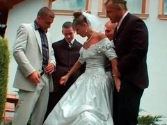 Gangbang, Bride, Wedding, Gotporn.com