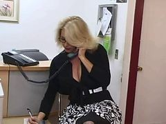 Secretary, Big Tits, Mature, Xhamster.com
