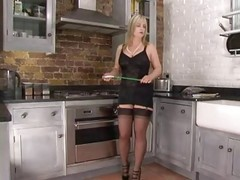 Kitchen, Femdom, Stockings, Xhamster.com