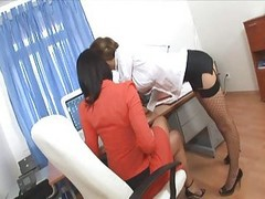 Office, Secretary, Threesome, Xhamster.com