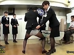 Stewardess, Train, Pornhub.com
