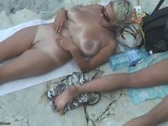 Beach, Mature, Xhamster.com
