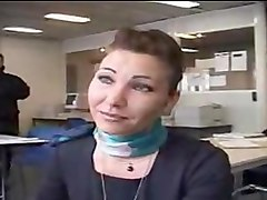 French, Stewardess, Xhamster.com