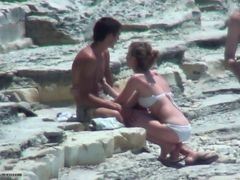 Couple, Beach, Shy, Xhamster.com