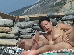 Couple, Beach, Xhamster.com
