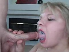 Blonde, Swallow, Xhamster.com